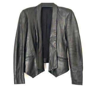 Leather lamb skin jacket